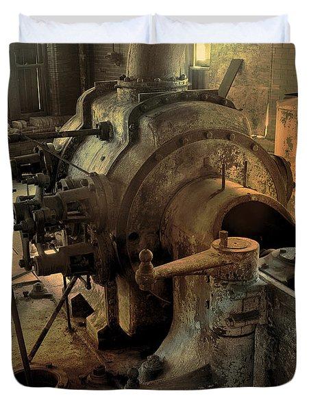 Steam Engine No 4 Duvet Cover