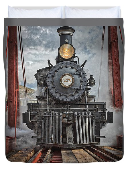 Steam Locomotive Duvet Cover