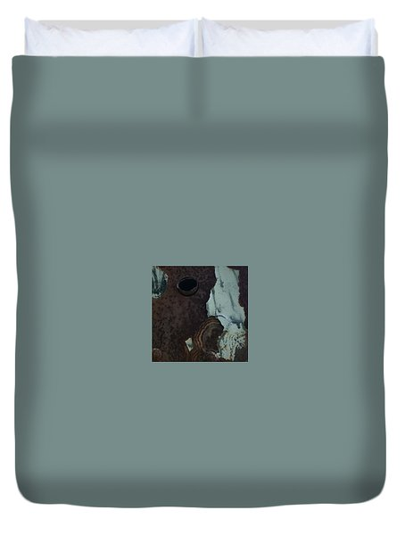Rusted Away Duvet Cover by Kimberly  W