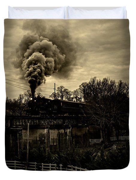 Steam Duvet Cover