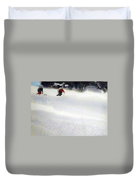 Sugar Bowl Duvet Cover by Ed Heaton