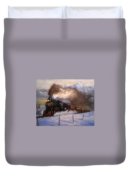 Steamin South Duvet Cover