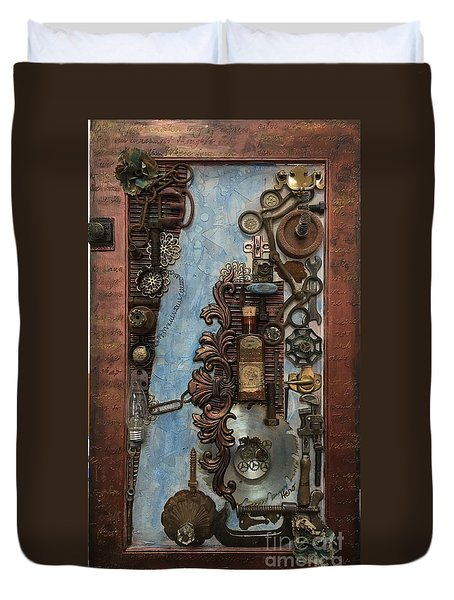 Steampunk 1 Duvet Cover