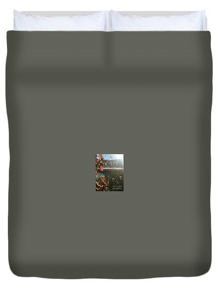 Steamy Lake Duvet Cover by Jason Nicholas
