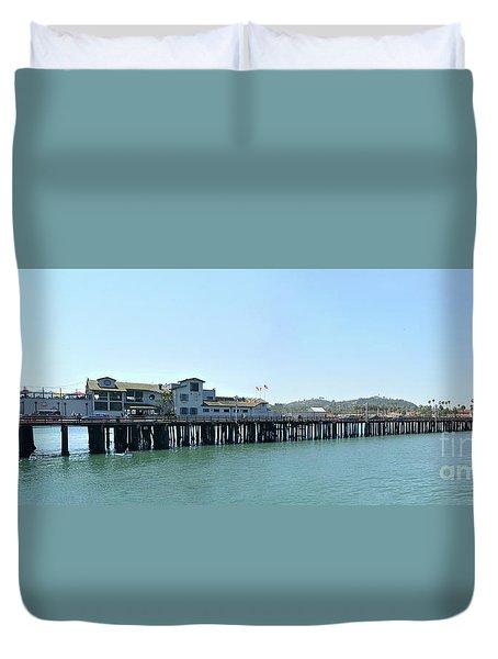 Stearns Wharf 2 Duvet Cover