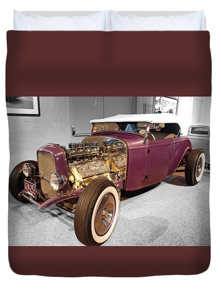 Steele Roadster Duvet Cover