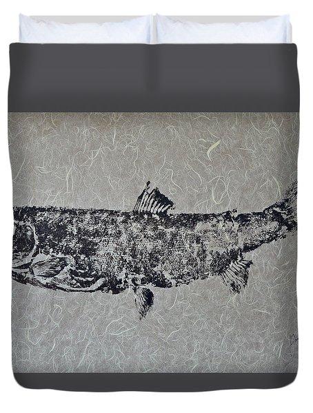 Steelhead Salmon - Smoked Salmon Duvet Cover
