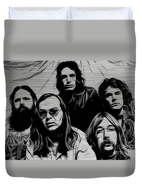 Steely Dan Collection Duvet Cover by Marvin Blaine