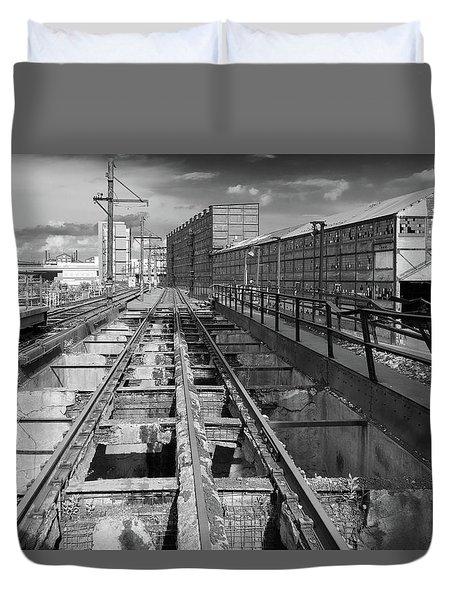 Steelyard Tracks 1 Duvet Cover