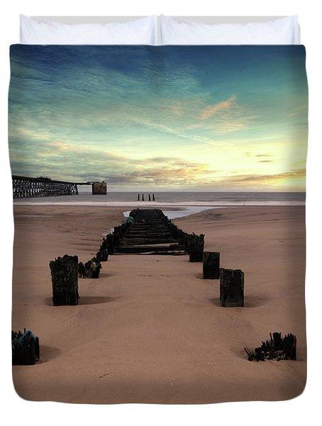 Steetly Pier Duvet Cover