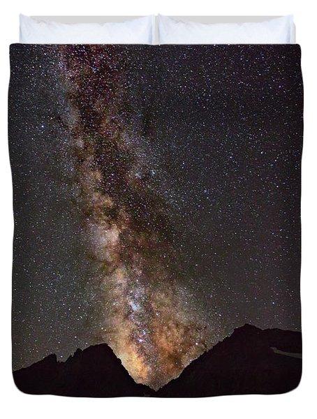Stellar Eruption II Duvet Cover