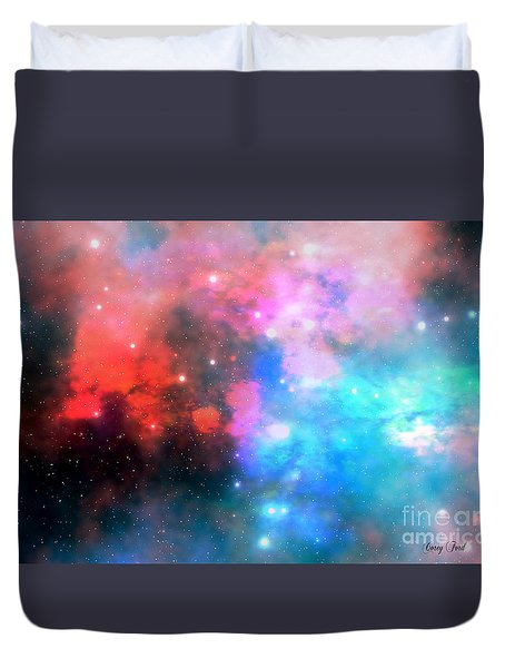 Stellar Relic Duvet Cover by Corey Ford