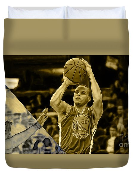 Steph Curry Collection Duvet Cover