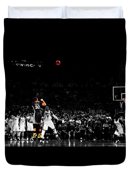 Stephen Curry Its Good Duvet Cover