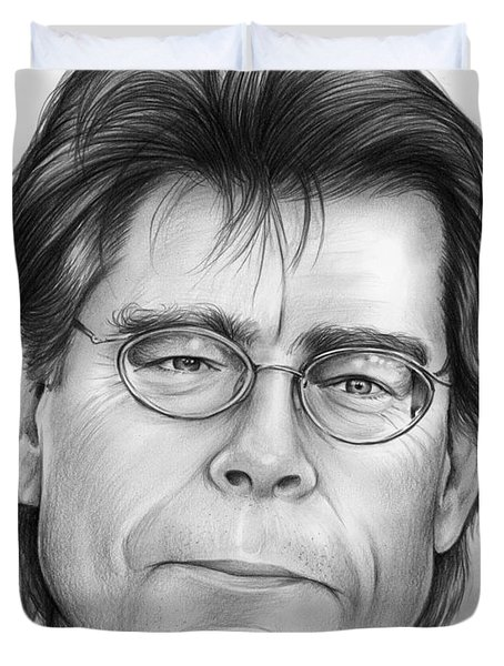 Stephen King Drawing By Greg Joens