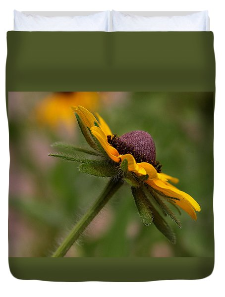 Duvet Cover featuring the photograph Steppin Out by Tammy Espino