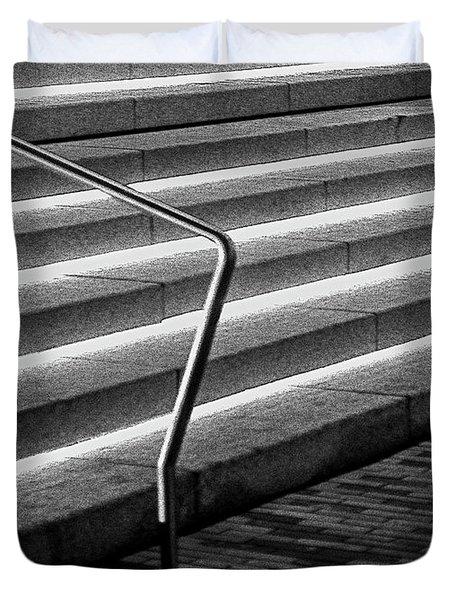 Steps Duvet Cover