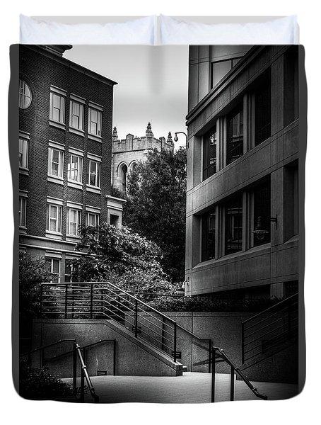 Steps In Charlotte Duvet Cover