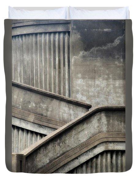 Steps Duvet Cover by Newel Hunter