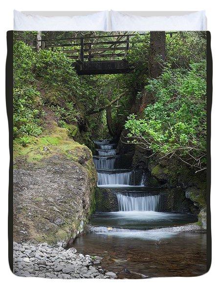 Steps To Serenity Duvet Cover
