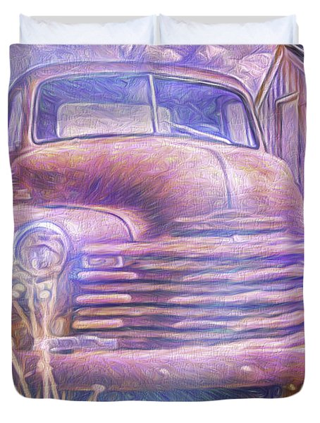 Stepside Art  Duvet Cover