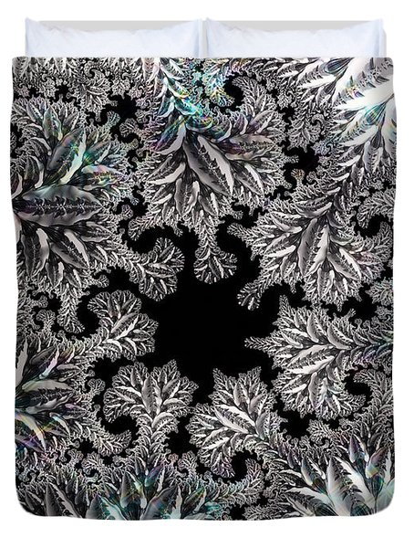 Sterling Forest Duvet Cover by Susan Maxwell Schmidt