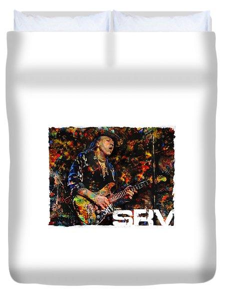 Stevie Ray Duvet Cover
