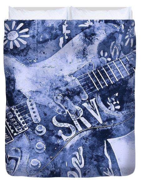 Stevie Ray Vaughan - 04 Duvet Cover