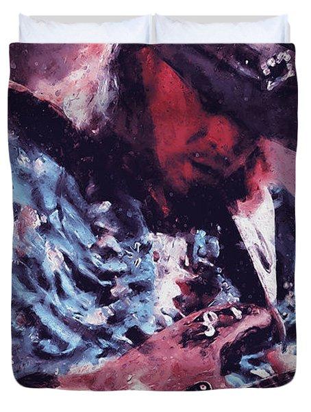 Stevie Ray Vaughan - 25 Duvet Cover