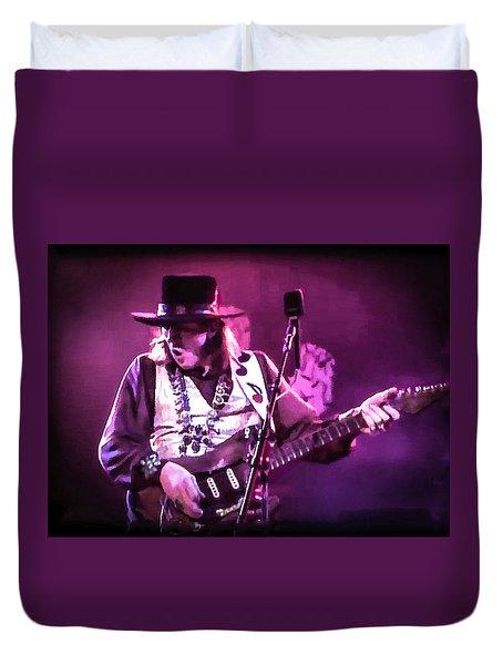 Stevie Ray Vaughan - Change It Duvet Cover
