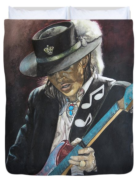 Stevie Ray Vaughan  Duvet Cover
