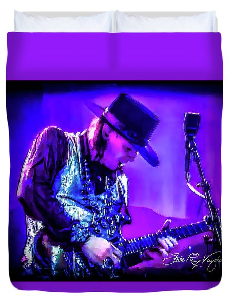 Stevie Ray Vaughan - Tightrope Duvet Cover