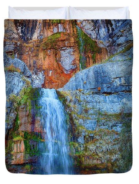 Stewart Falls Duvet Cover