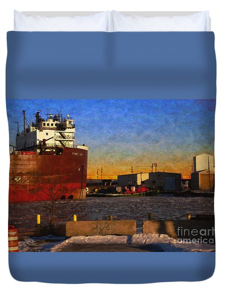 Stewart J. Cort Duvet Cover by David Blank