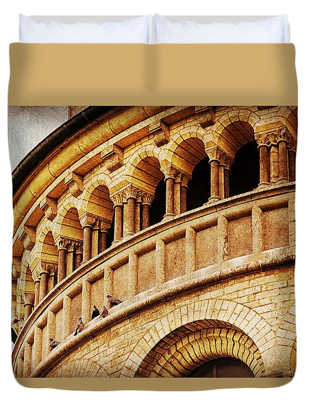 St. Gereon Church In Cologne, Germany Duvet Cover