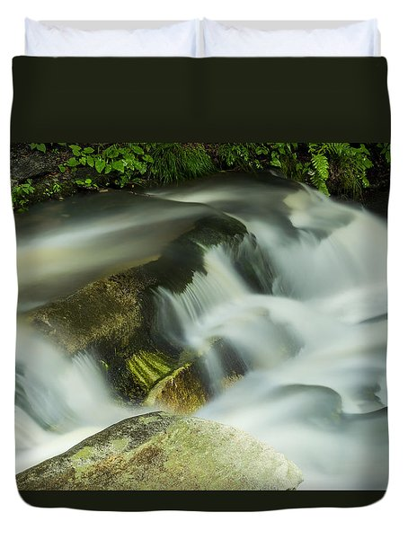Stickney Brook Flowing Duvet Cover by Tom Singleton