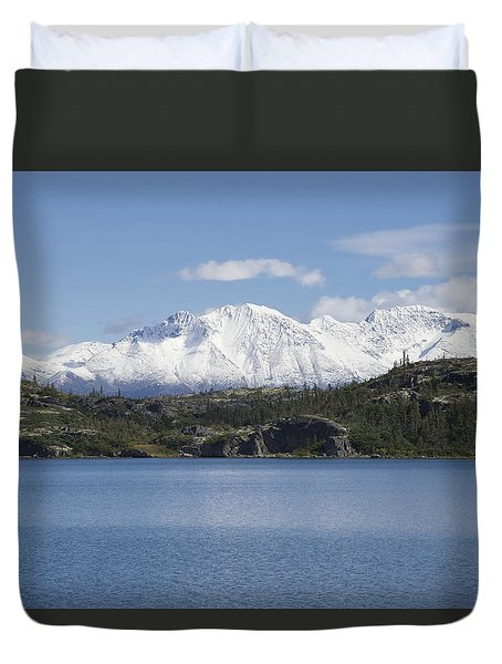 Stikine Mountains 7 Duvet Cover