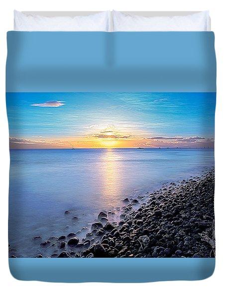 Stiletto Shore Duvet Cover