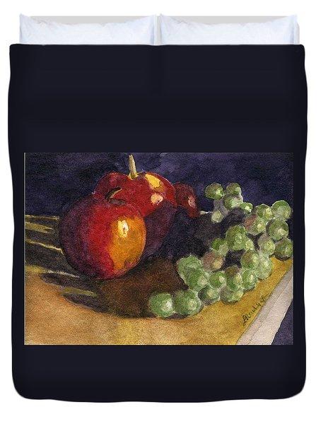 Still Apples Duvet Cover