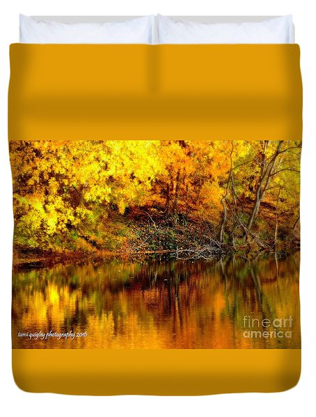 Still Gold Duvet Cover
