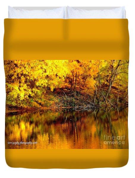 Still Gold Duvet Cover