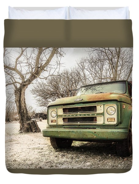 Still In Service Duvet Cover