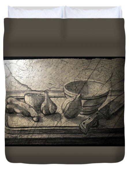 Still Life 89 Duvet Cover