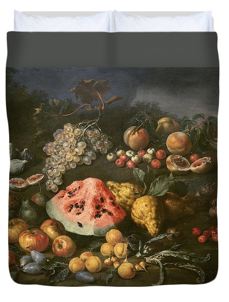 Still Life Duvet Cover