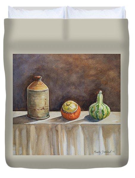 Still Life On A Table Duvet Cover