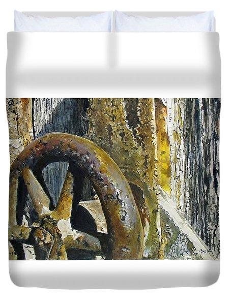 Still Life Time Duvet Cover