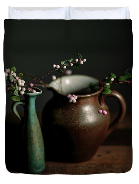 Still Life With Stoneware  Duvet Cover