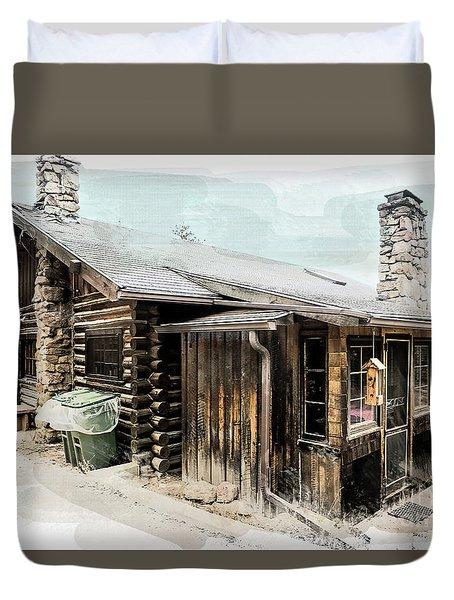 Still Livable Duvet Cover by Deborah Nakano