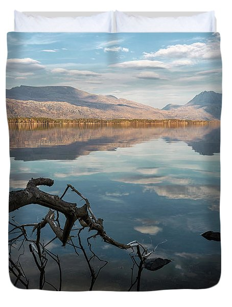 Still Maree Duvet Cover