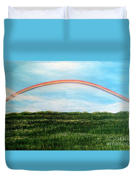 Still Searching For Somewhere Over The Rainbow? Duvet Cover